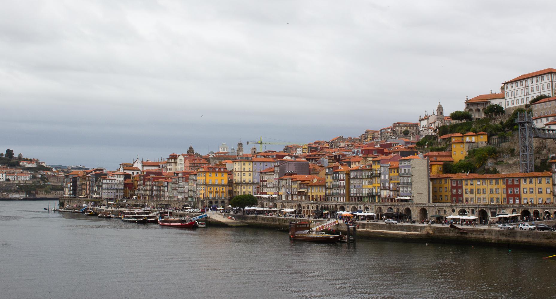 Porto's Cais Da Ribeira photo by Trixie Pacis