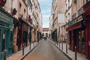 Streets of Saint-Germain-des-Pres. Photo: Kellie Paxian