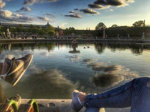 Tuileries Garden. Photo: Kellie Paxian