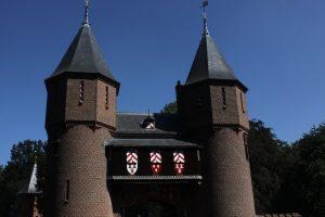 Utrecht castle in Holland