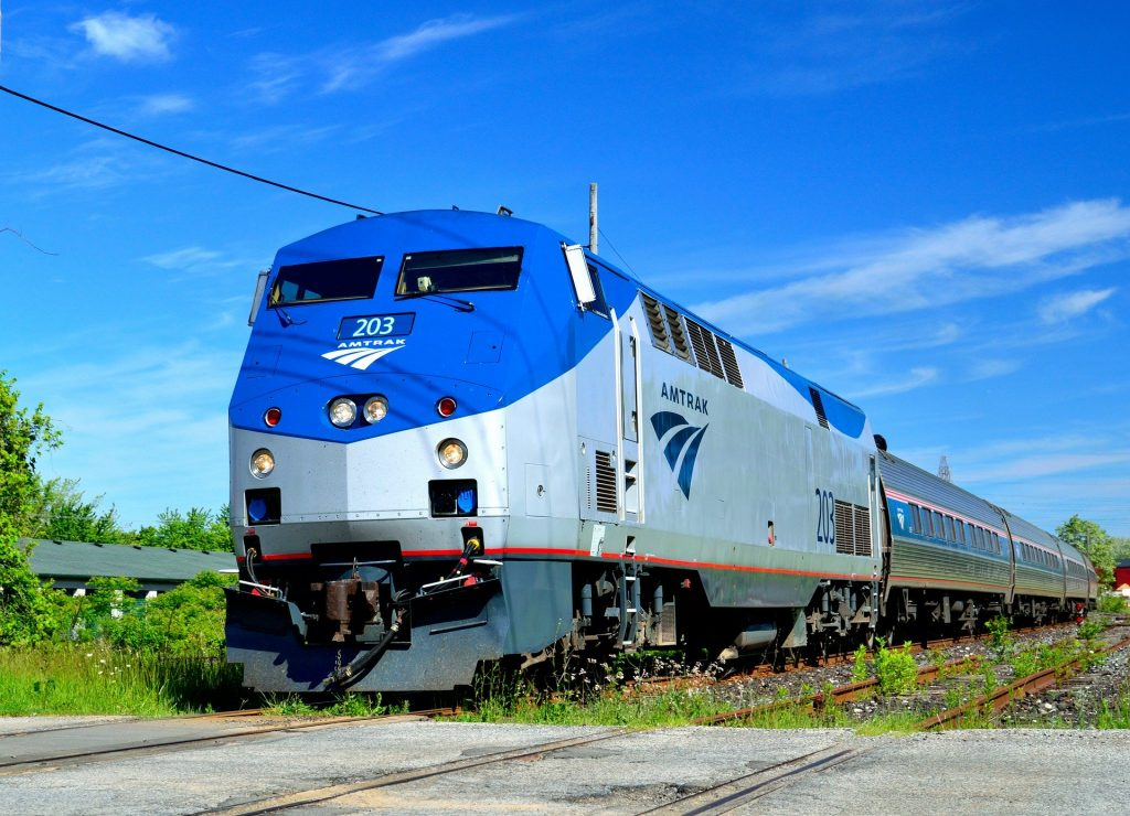 Amtrak train offers greener travel