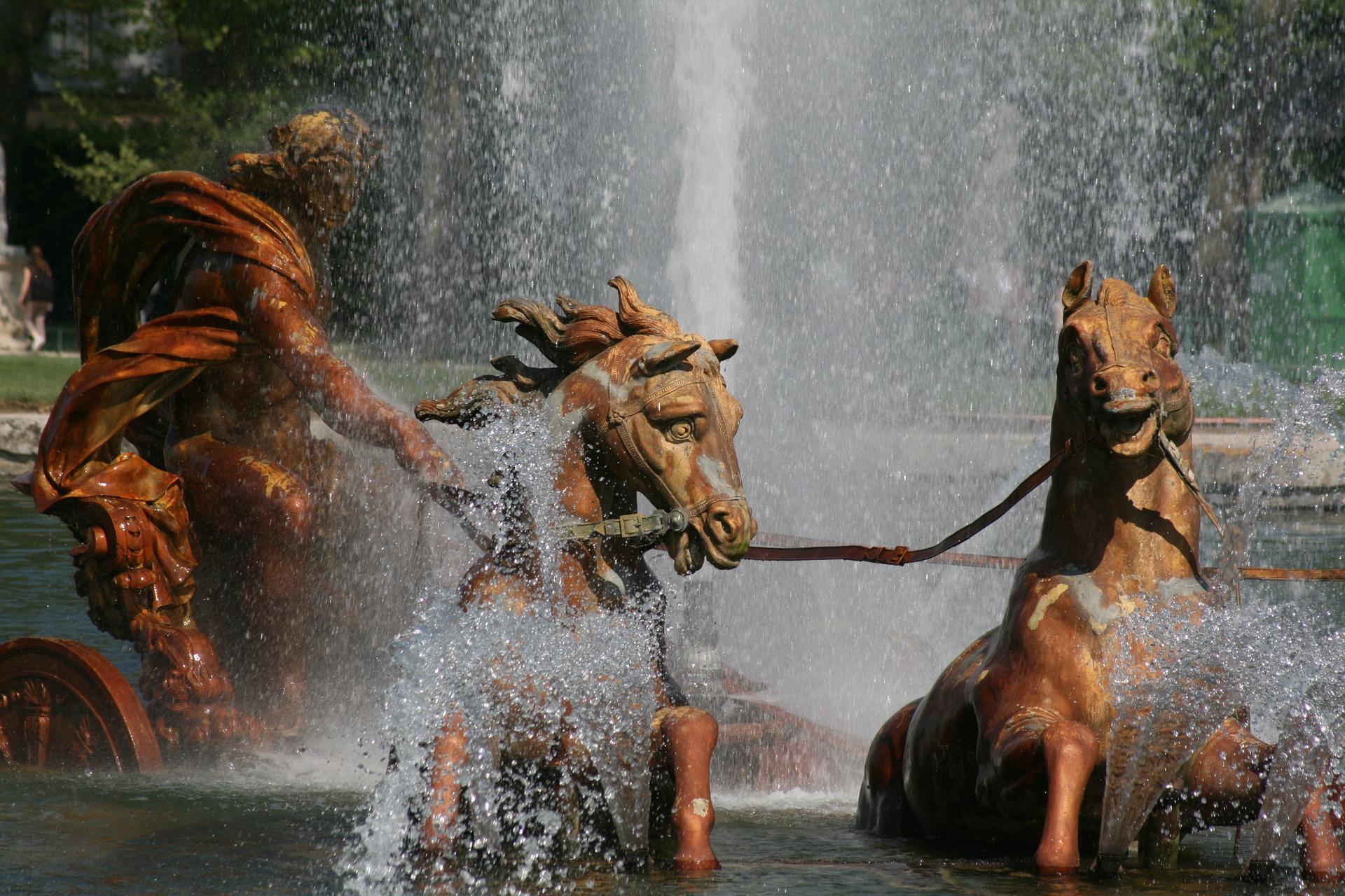 Paris - Apollo featured in the Versailles garden.