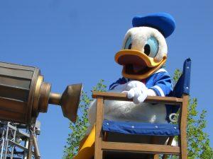 disneyland-Donald Duck