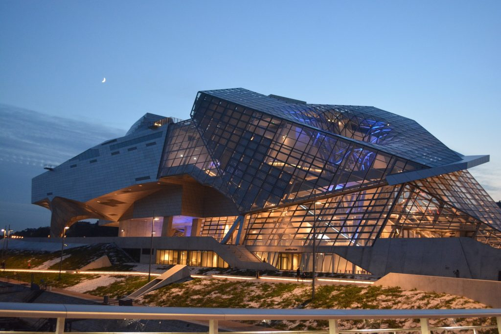 The Musée des Confluences is a science centre and anthropology museum in Lyon, France.