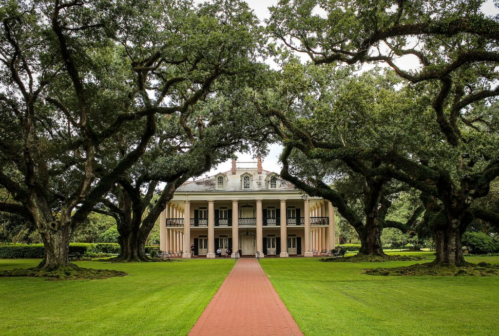 Oak Alley Plantation outside of New Orleans