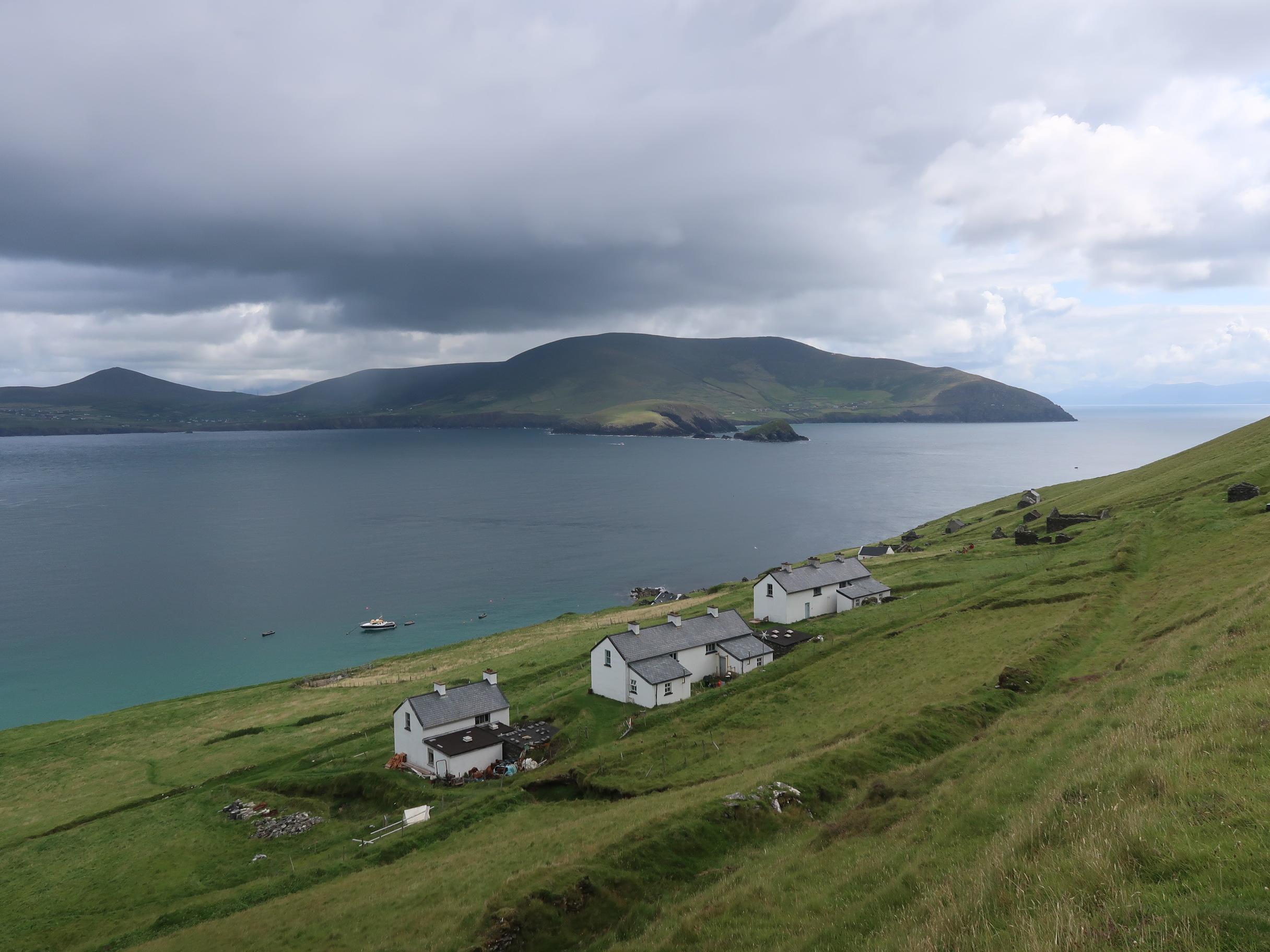 Blasket Island's lower town