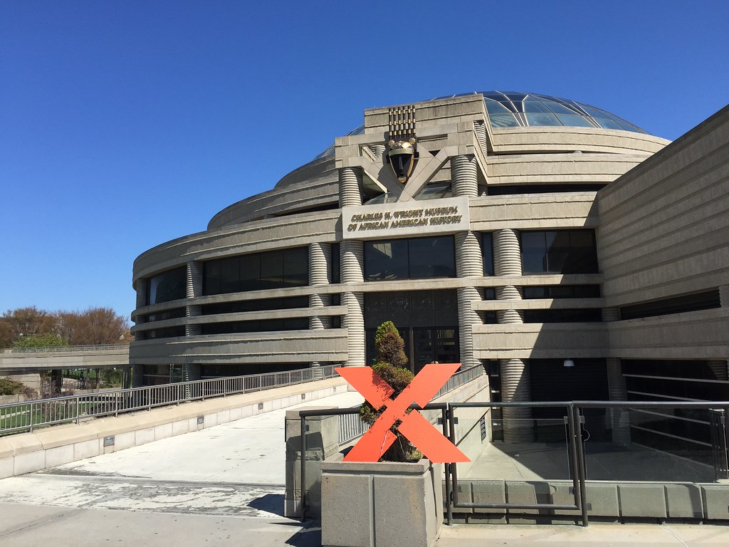 Charles H. Wright Museum of African American History. Photo by Michael_Bolden is licensed under CC BY 2.0