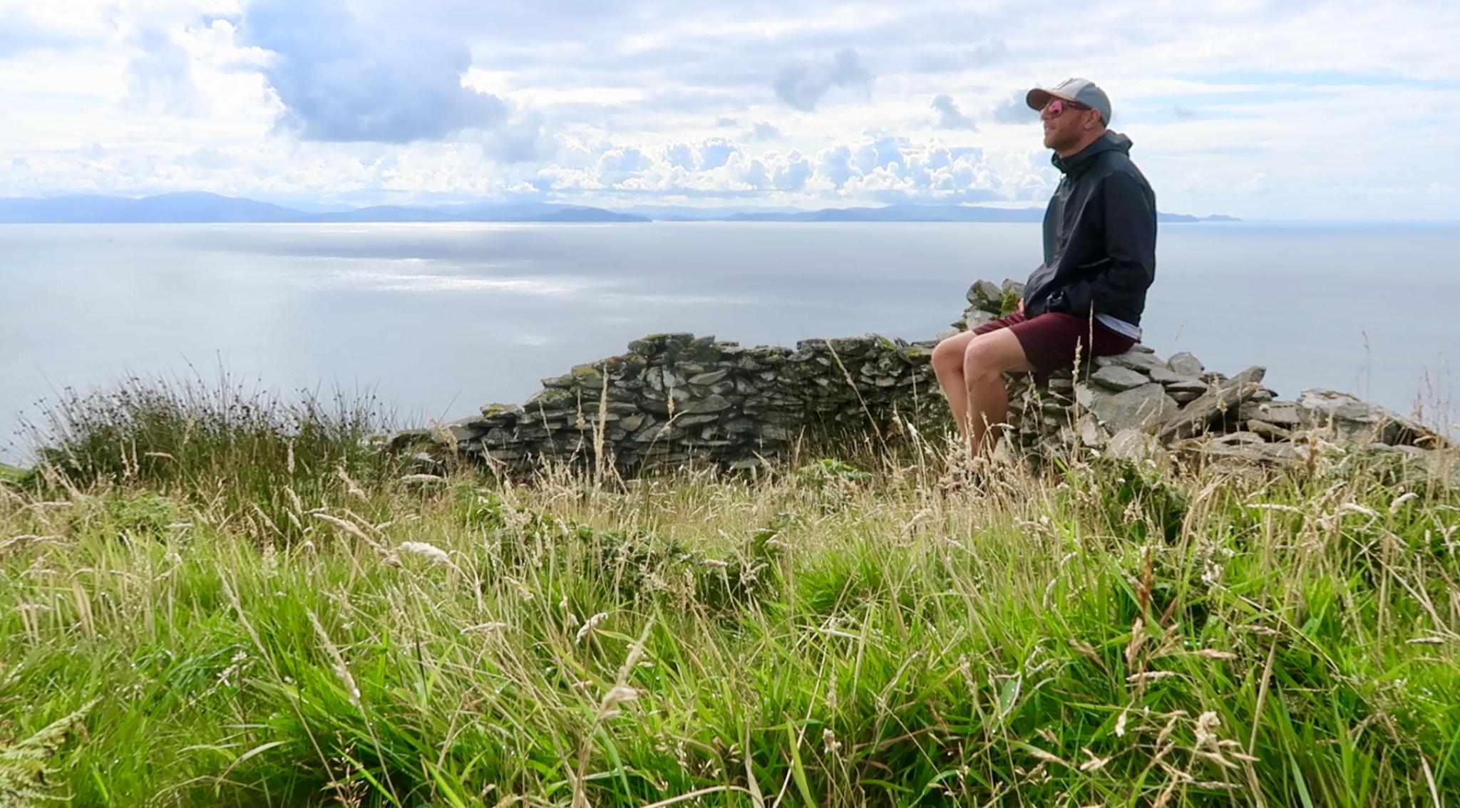 Derek Cullen on the Great Blasket Island