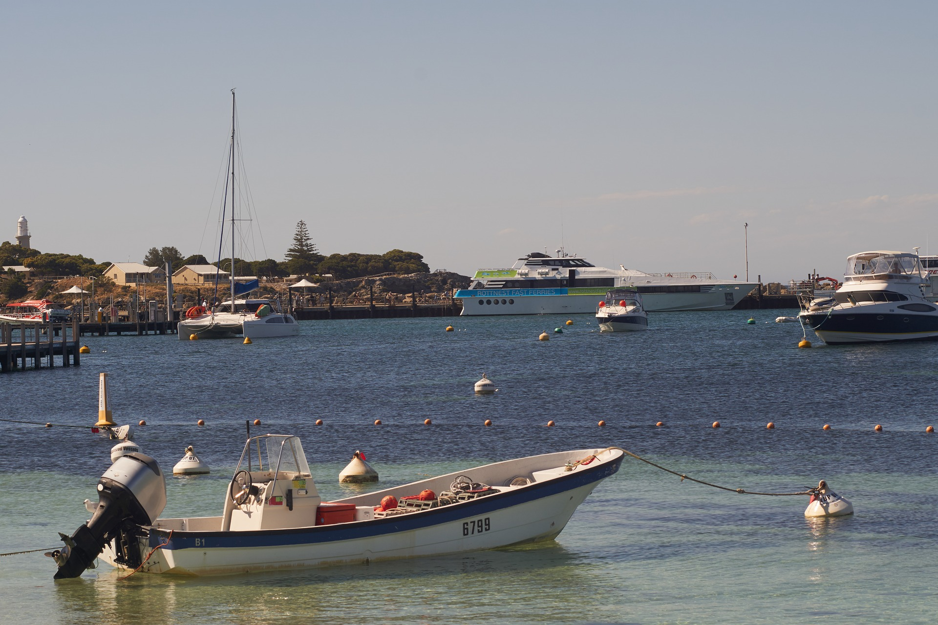 Rottnest Island marina