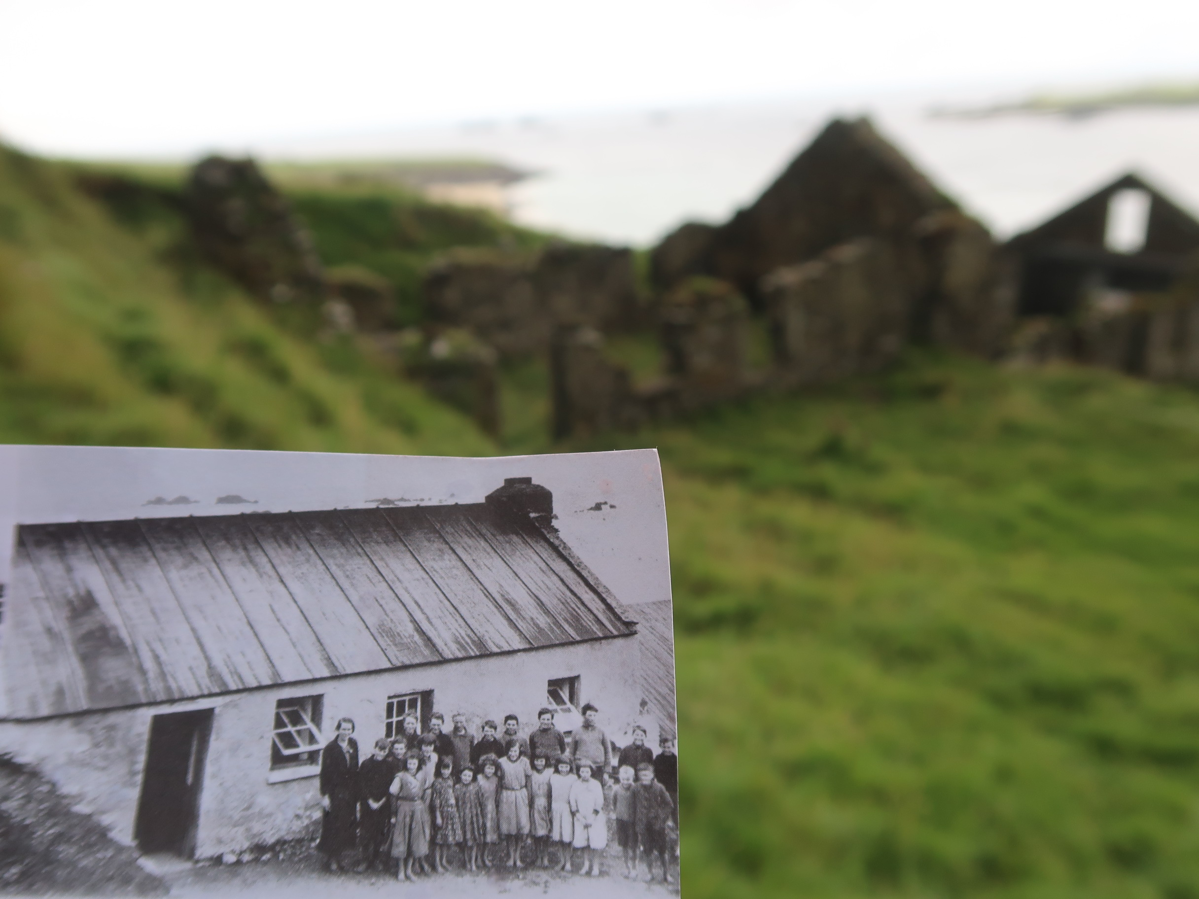 The house that was on the Great Blasket Island