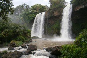 Iguassu Falls in Argentina.