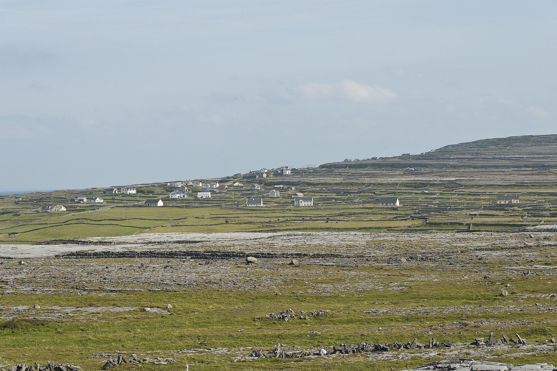 Aran Island mountain village