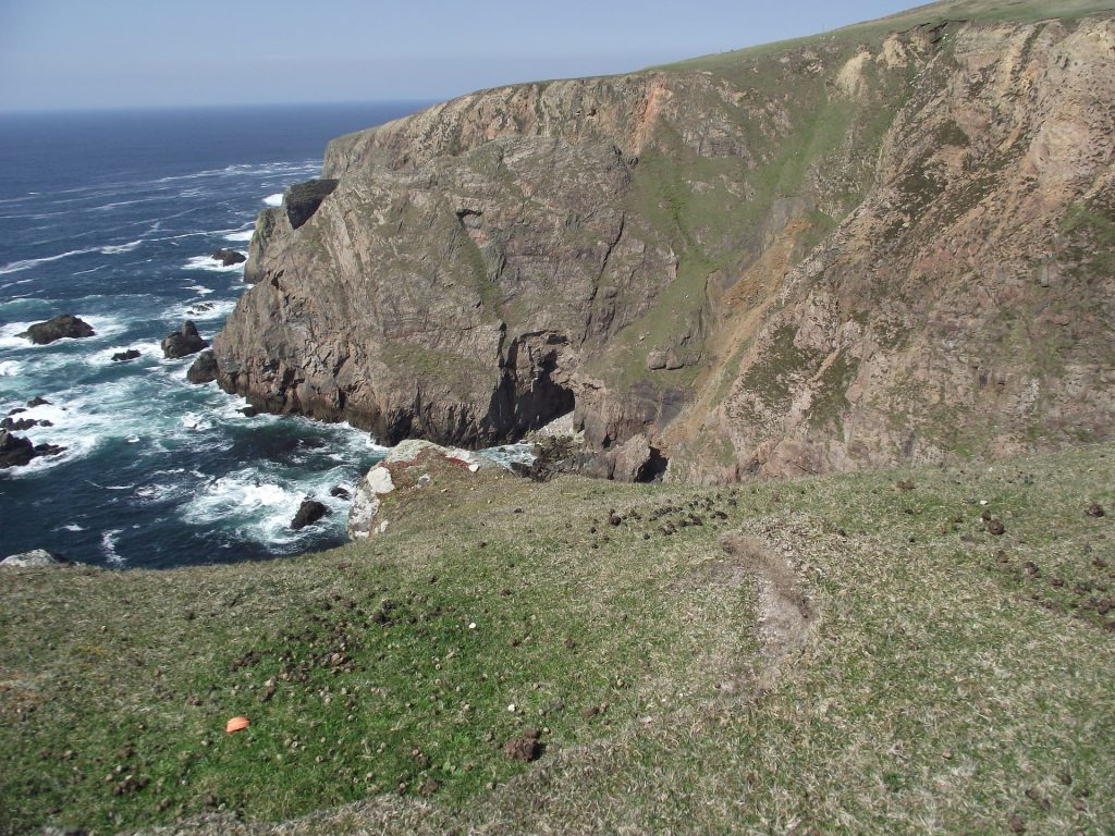 Ireland Aran Island cliff