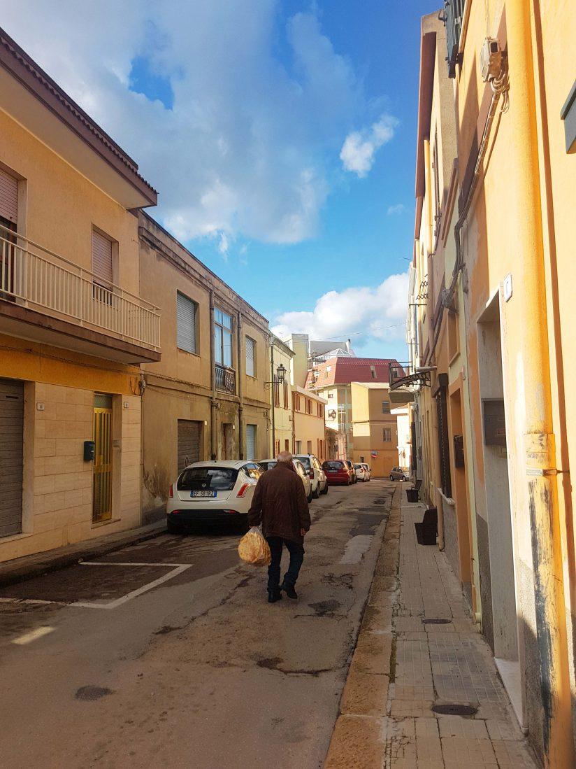Street in Porto Torres. Photo: Torrance McCartney