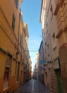 Street in Sassari. Photo: Torrance McCartney