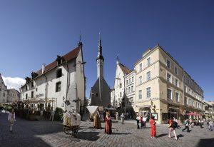 Streets of Tallinn Old Town. Courtesy of Visit Estonia. Photo: Toomas Tuul