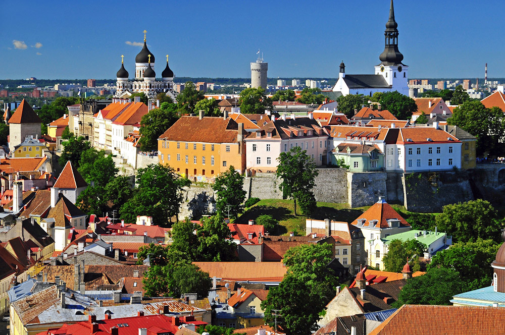 Tallin Old Town Estonia compliments of Visit Estonia. photo Andrea Forlani