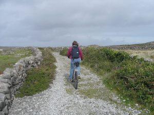 aran-islands-trails on bike
