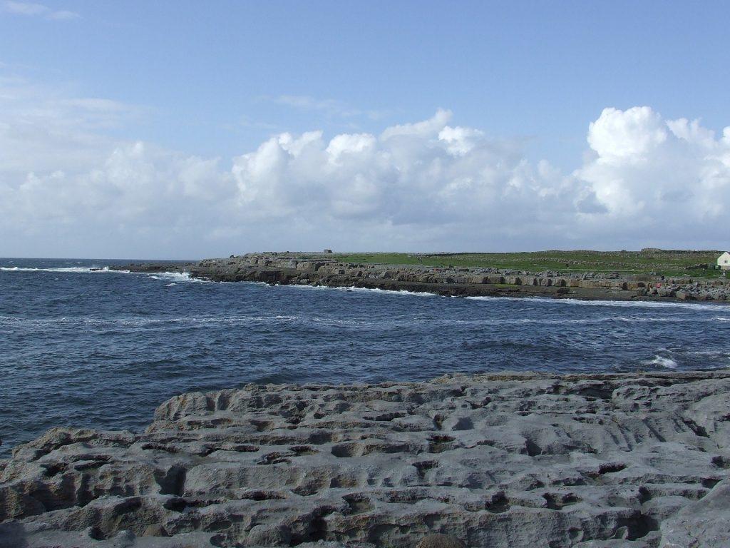 ireland Aran Island coast
