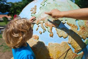 teaching children about the world