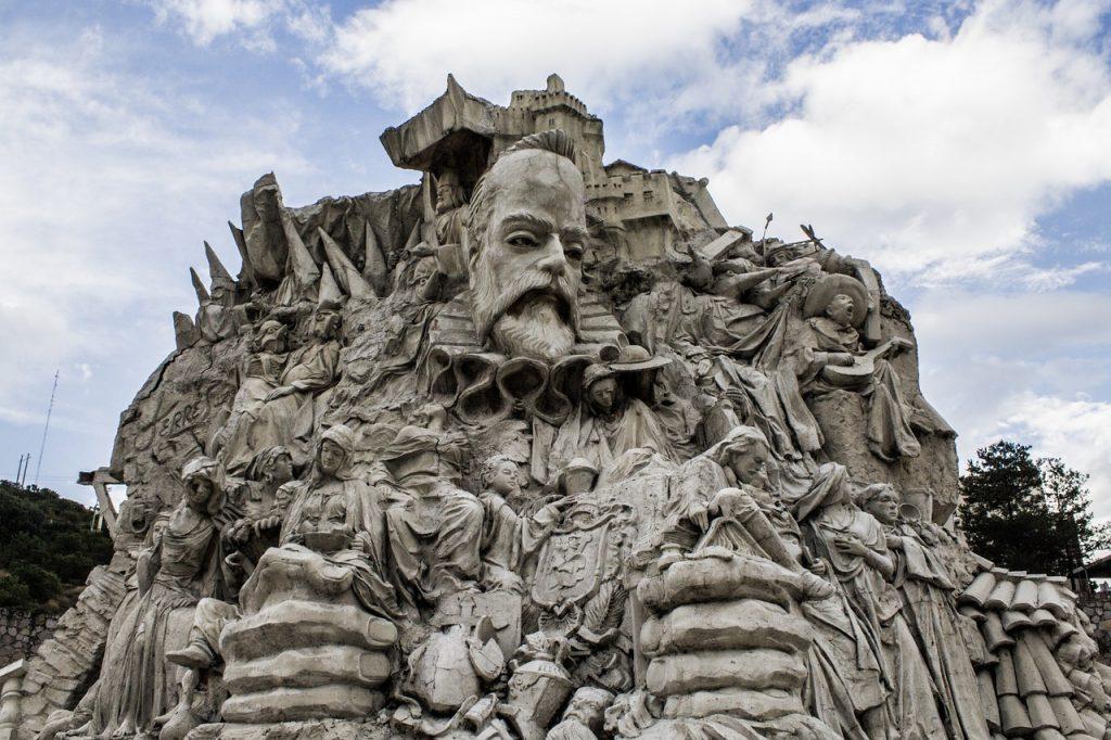 Guanajuato, Mexico monument