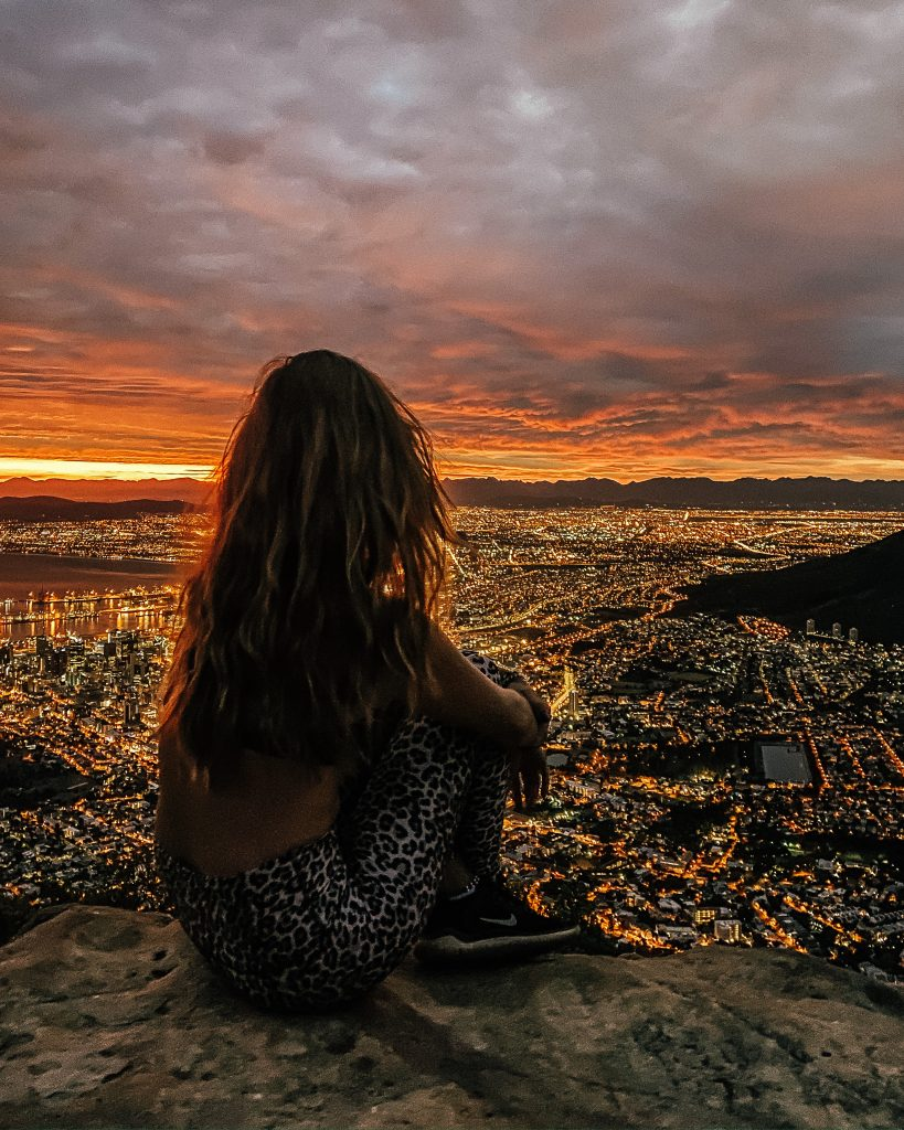 My last hike up Lion's Head, Cape Town. Photo: Kellie Paxian