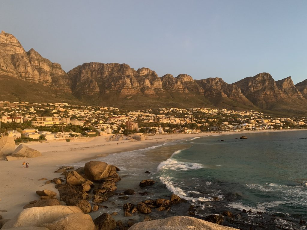 My last sunset in Cape Town