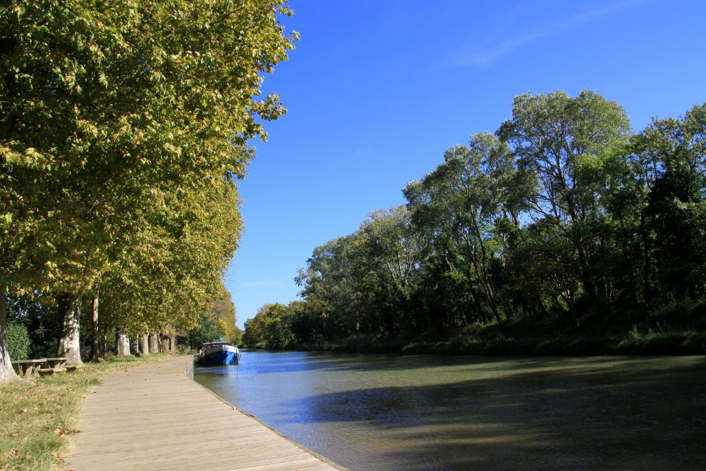 The Canal du Midi, France
