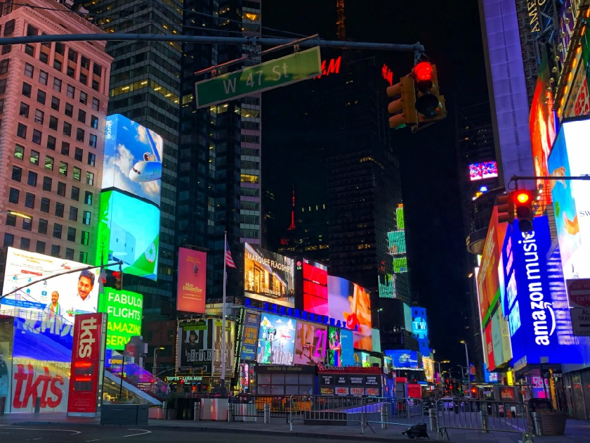 Times Square photo taken by Terri Marshall