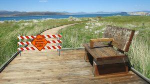Boardwalk closure due to covid-19