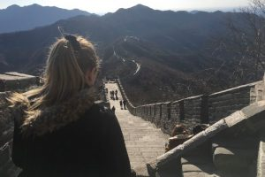 Solo Travel - View of the Great Wall of China. Photo: Lydia Klemensowicz