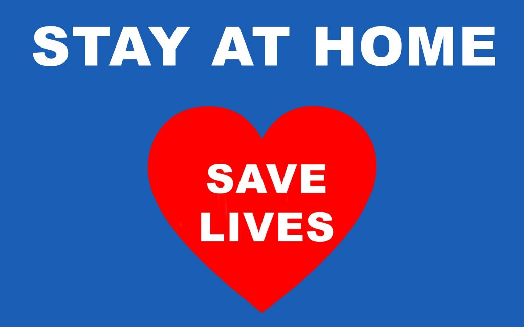 Stay at Home, Save Lives photo