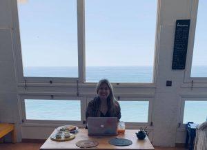 Working alone. Photo: Lydia Klemensowicz