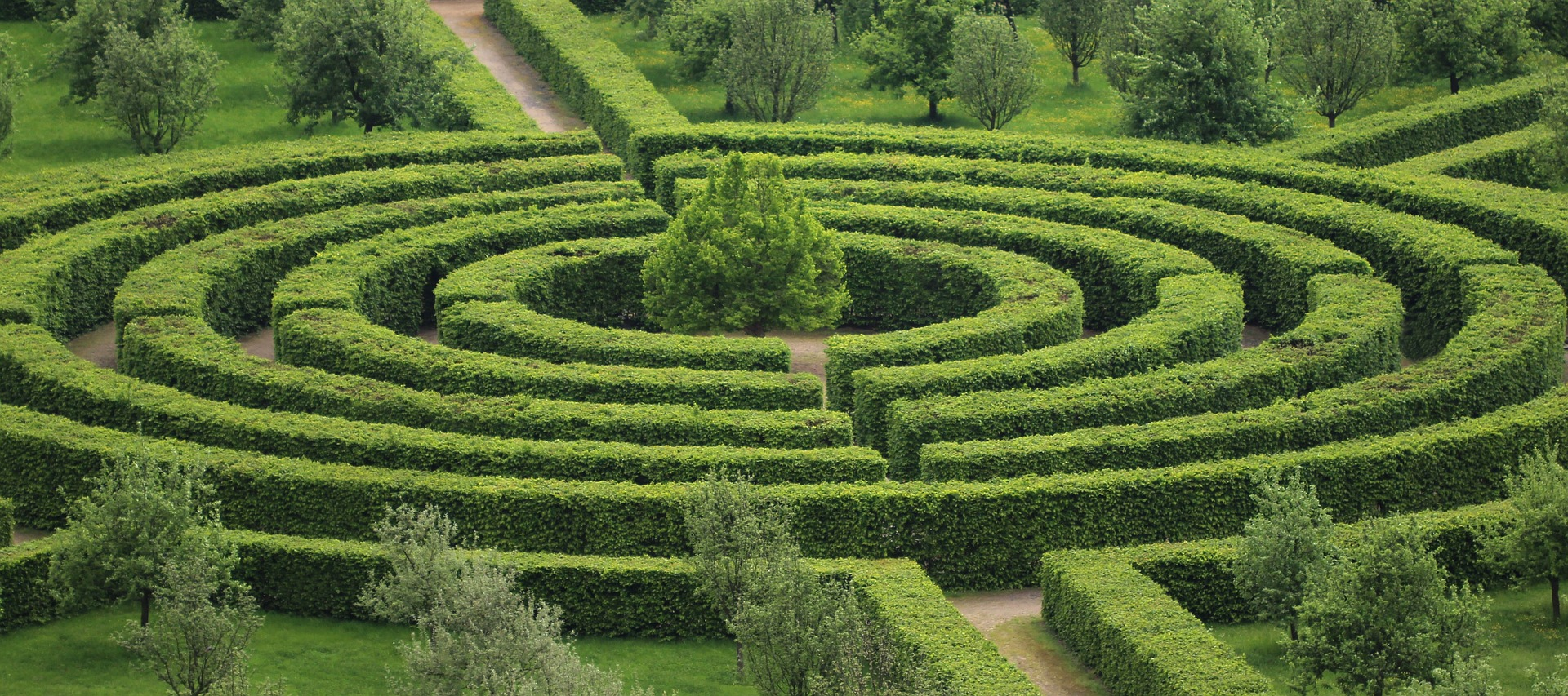 A garden Maze