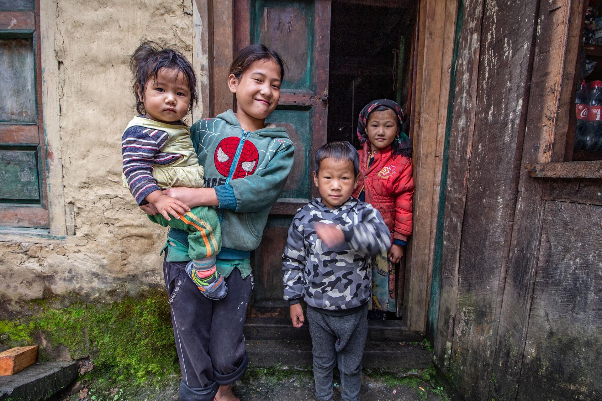 Community - Nepalese children