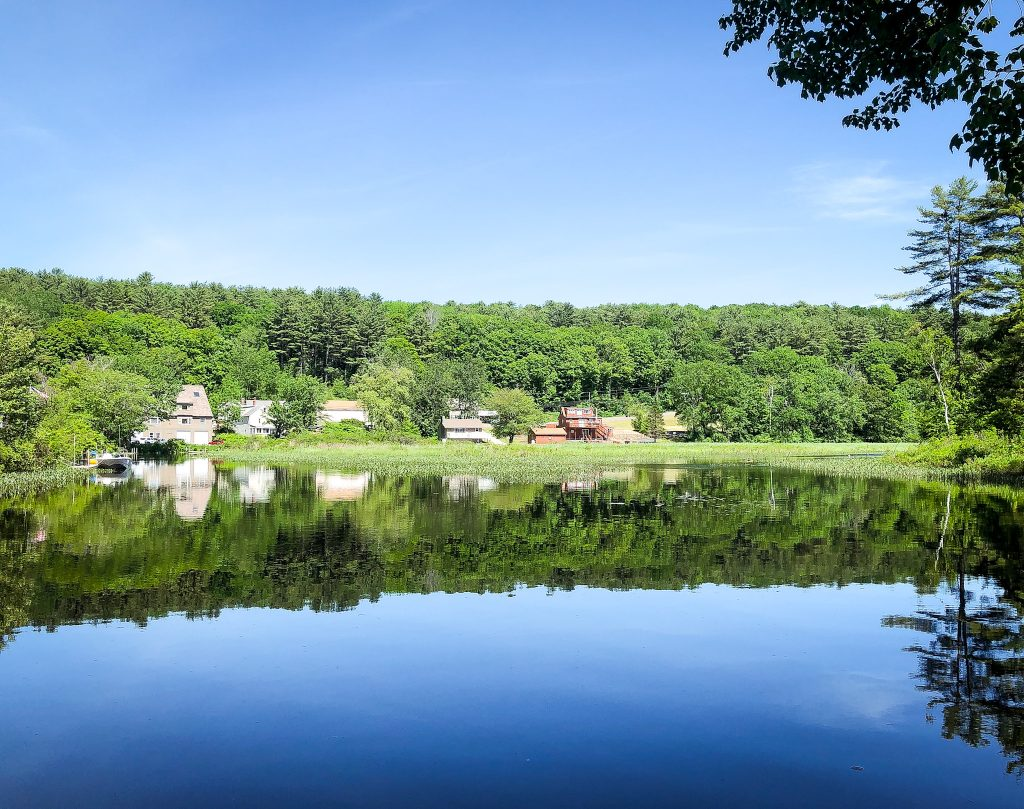 A small town in New Hampshire. Photo: Kellie Paxian