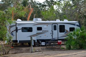 RV travel and camping