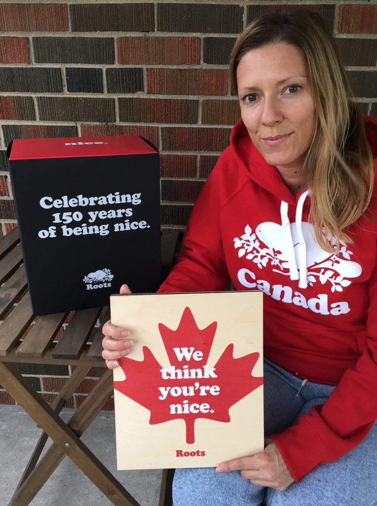 Helen Hatzis - Roots Canada 150 Nice Award