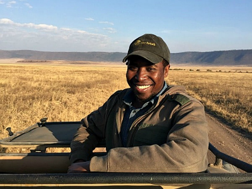 Sustainable Tourism - Victor Nyakiriga of TopGuides Safaris. Photo: Terri Marshall