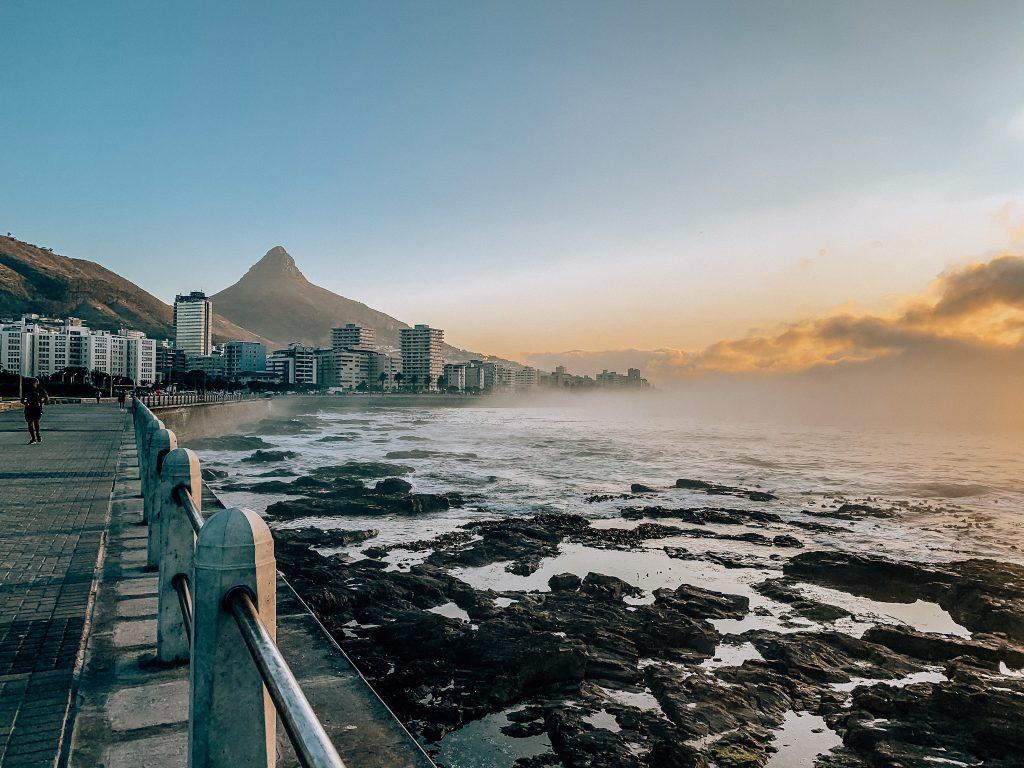 Cape Town Promenade with Lion's Head view. Photo:  Kellie Paxian