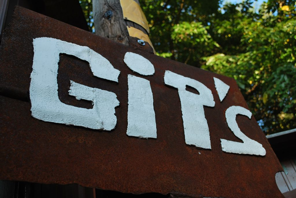 Gip's Place sign