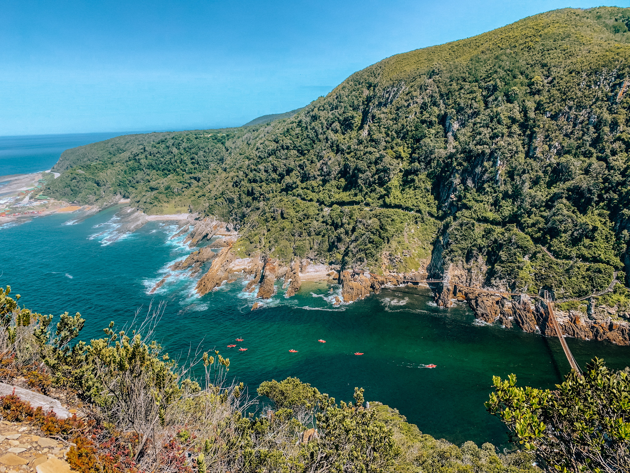 Storms River Mouth in Tsitsikamma National Park. Photo: Kellie Paxian