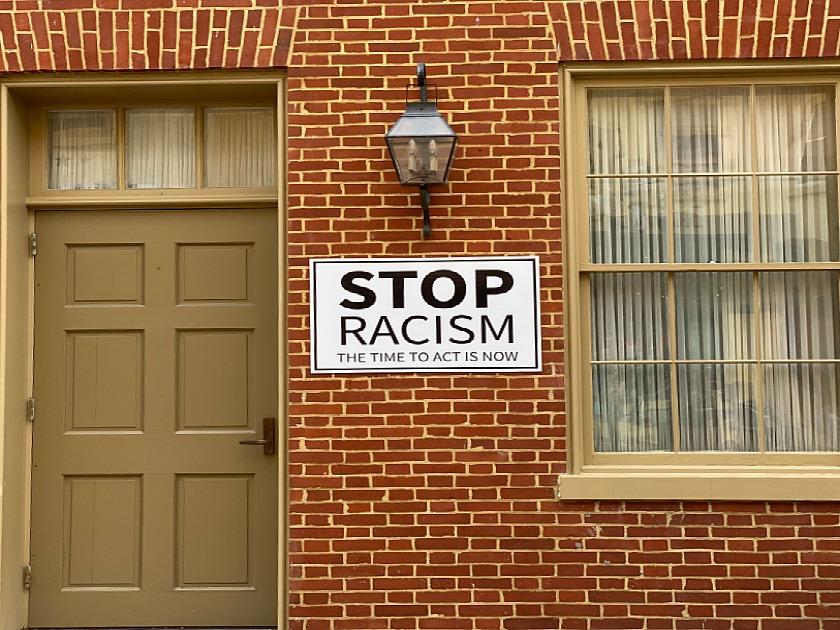 Road Trip Stop Racism Winchester VA. Photo:  Terri Marshall