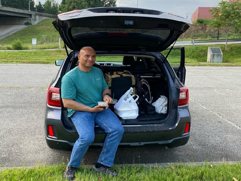 Road Trip Subaru Picnic. Photo: Terri Marshall