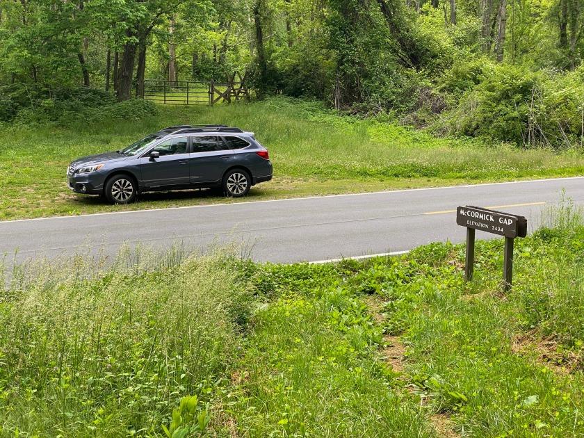 Road Trip on the Skyline Drive in Shenandoah National Park VA. Photo: Terri Holder