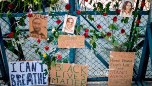 Black Lives Matter at U.S. Embassy in Mexico