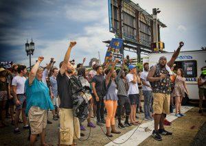 protest-Black Lives Matter. Baltimore