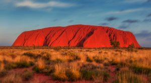 Uluru Rock in Australia