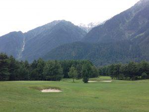 View of mountains in Kashmir. Photo: Manali Shah