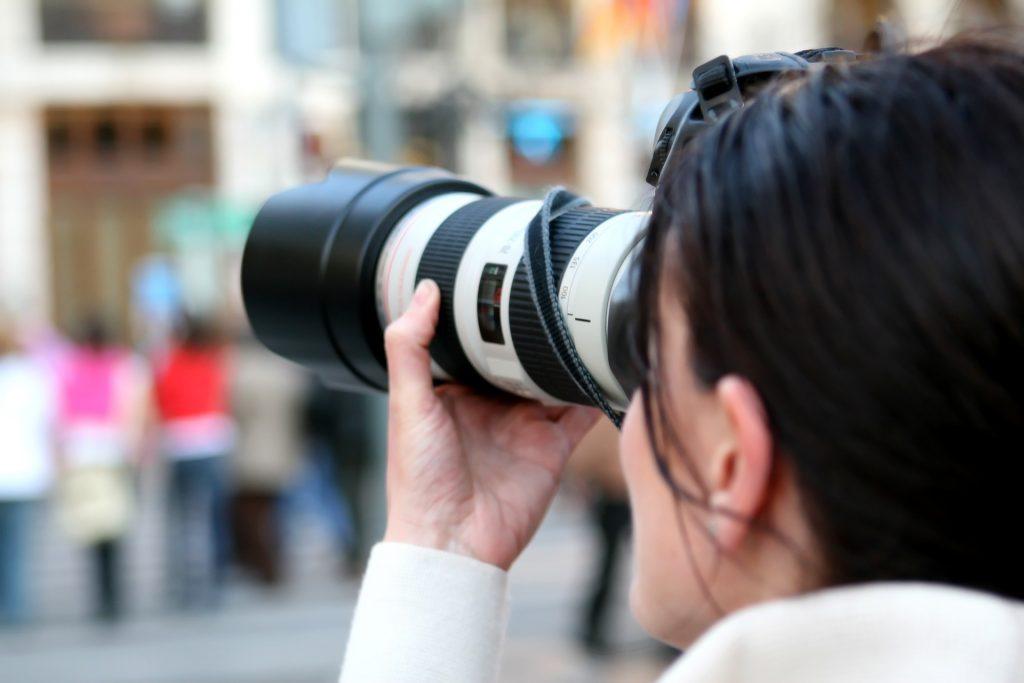 Photographer journalist